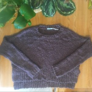 Urban Outfitters Purple mock neck sweater